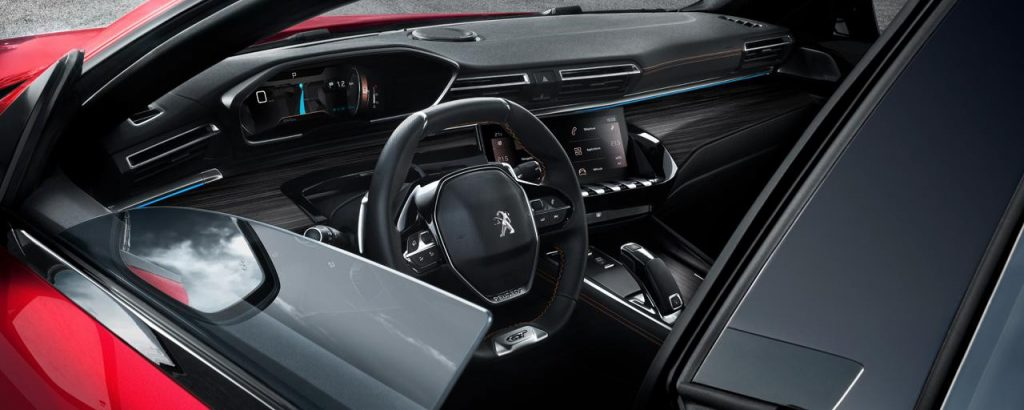 Peugeot 508 sW Lenkrad